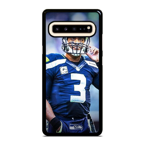 RUSSELL WILSON SEATTLE SEAHAWKS Samsung Galaxy S10 5G Case Cover