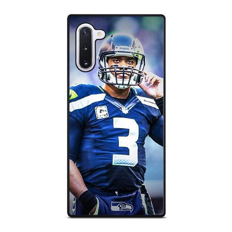 RUSSELL WILSON SEATTLE SEAHAWKS Samsung Galaxy Note 10 Case Cover