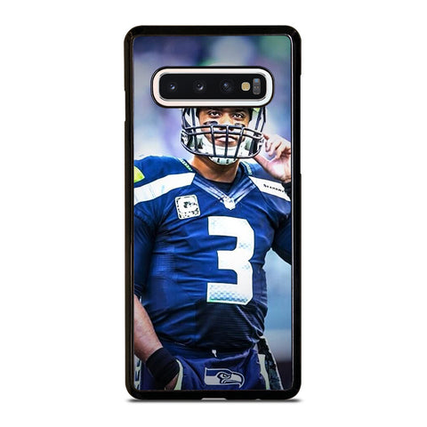 RUSSELL WILSON SEATTLE SEAHAWKS Samsung Galaxy S10 Case Cover