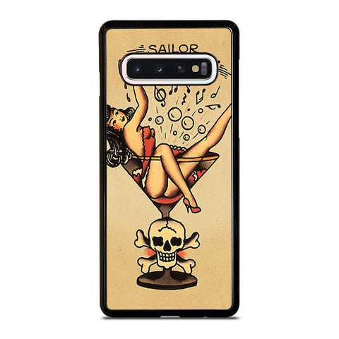 SAILOR JERRY S TATTOO Samsung Galaxy S10 Case Cover
