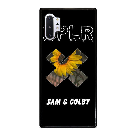 SAM AND COLBY XPLR SUN FLOWER Samsung Galaxy Note 10 Plus Case Cover