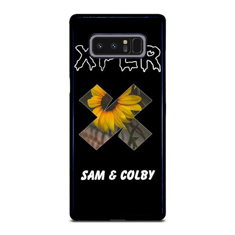 SAM AND COLBY XPLR SUN FLOWER Samsung Galaxy Note 8 Case Cover
