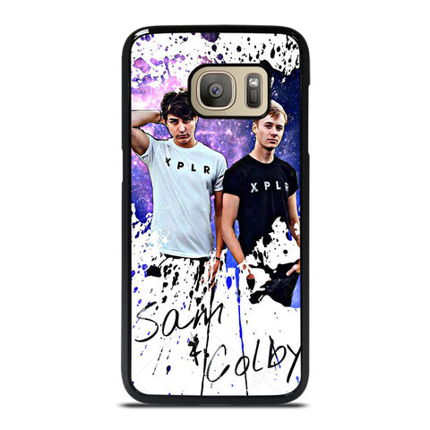 SAM AND COLBY ART Samsung Galaxy S7 Case Cover