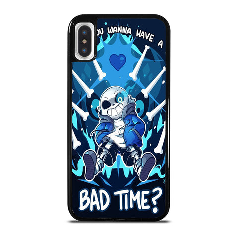 SANS UNDERTALE  BAD TIME 2 iPhone X / XS Case Cover