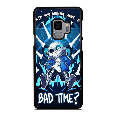 SANS UNDERTALE  BAD TIME 2 Samsung Galaxy S9 Case Cover