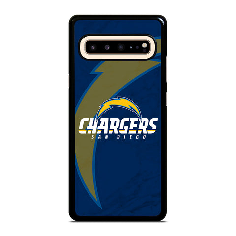 SAN DIEGO CHARGERS MARBLE Samsung Galaxy S10 5G Case Cover