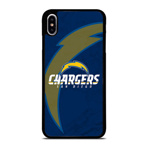 SAN DIEGO CHARGERS MARBLE iPhone XS Max Case Cover