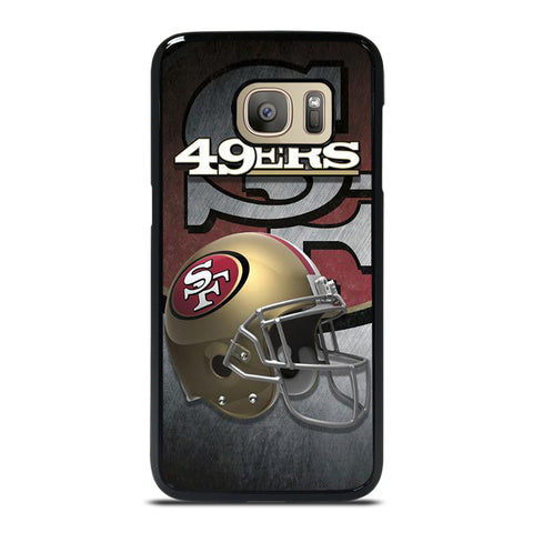 SAN FRANCISCO 49ERS HELMET Samsung Galaxy S7 Case Cover