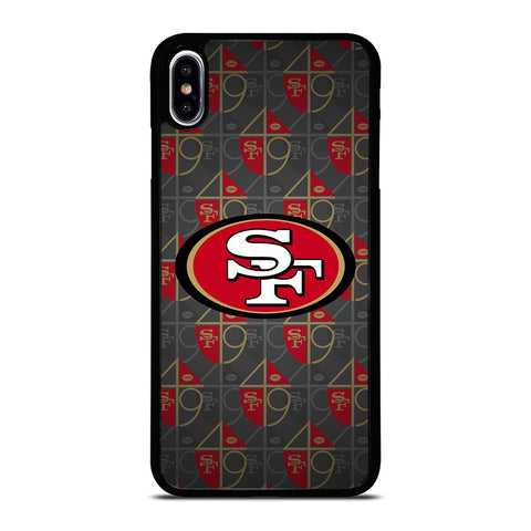 SAN FRANCISCO 49ERS ICON iPhone XS Max Case Cover