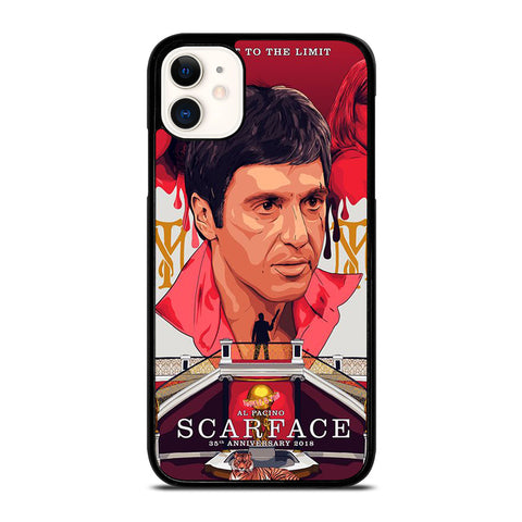 SCARFACE CLIPART iPhone 11 Case Cover