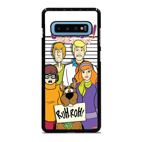 SCOOBY DOO Samsung Galaxy S10 Plus Case Cover