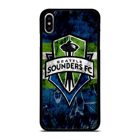 SEATTLE SOUNDERS FC ICON iPhone XS Max Case Cover