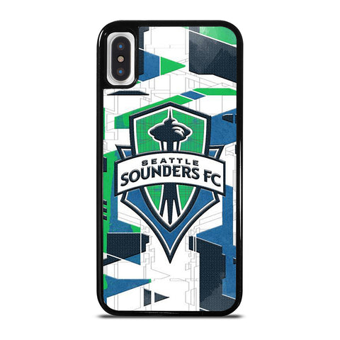 SEATTLE SOUNDERS FC LOGO iPhone X / XS Case Cover