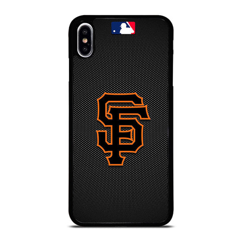 SF SAN FRANCISCO GIANTS LOGO iPhone XS Max Case Cover