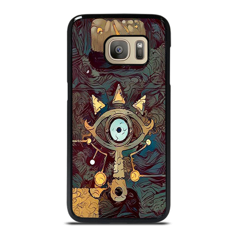 SHEIKAH SLATE LEGEND OF ZELDA ART Samsung Galaxy S7 Case Cover