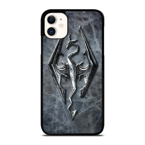 SKYRIM LOGO ELDER SCROLLS iPhone 11 Case Cover