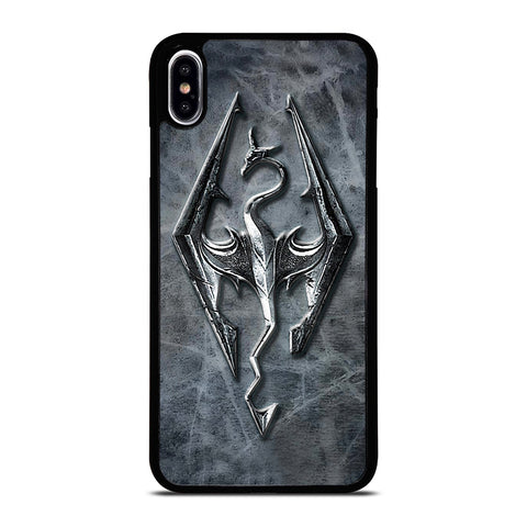 SKYRIM LOGO ELDER SCROLLS iPhone XS Max Case Cover