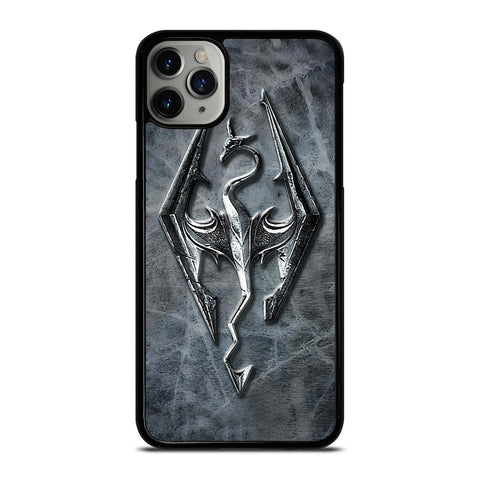 SKYRIM LOGO ELDER SCROLLS iPhone 11 Pro Max Case Cover