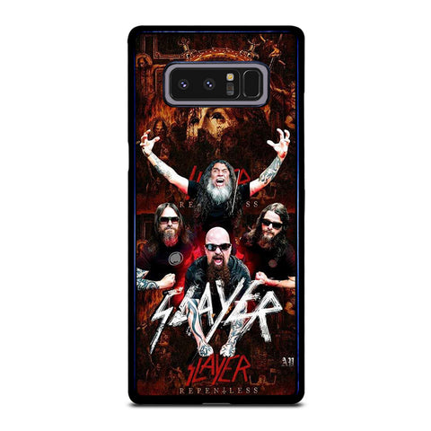 SLAYER METAL BAND POSTER Samsung Galaxy Note 8 Case Cover