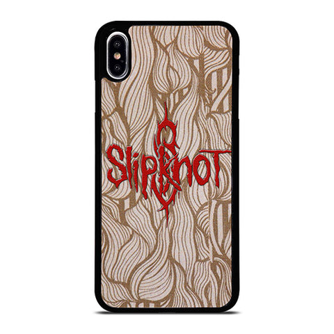 SLIPKNOT BAND LOGO ART iPhone XS Max Case Cover