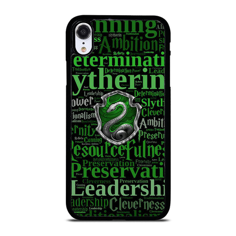 SLYTHERIN QUOTES iPhone XR Case Cover