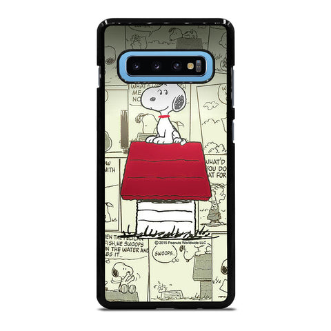 SNOOPY COMIC Samsung Galaxy S10 Plus Case Cover