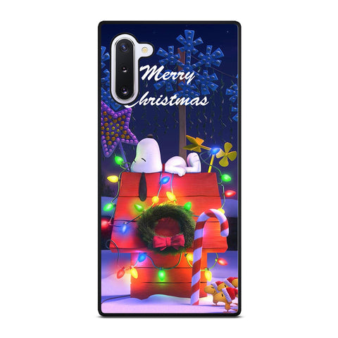 SNOOPY MERRY CHRISTMAS Samsung Galaxy Note 10 Case Cover