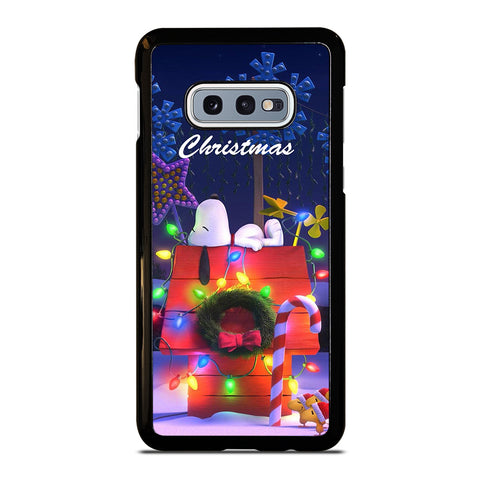 SNOOPY MERRY CHRISTMAS Samsung Galaxy S10e Case Cover