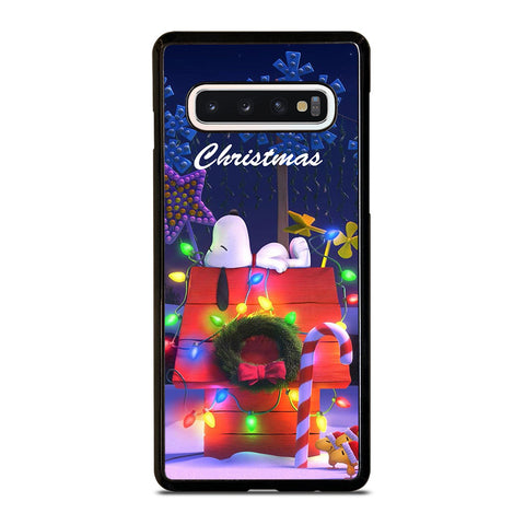 SNOOPY MERRY CHRISTMAS Samsung Galaxy S10 Case Cover