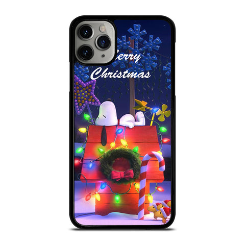 SNOOPY MERRY CHRISTMAS iPhone 11 Pro Max Case Cover