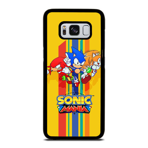 SONIC THE HEDGEHOG MANIA Samsung Galaxy S8 Case Cover