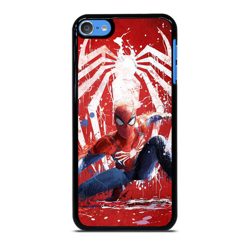 SPIDER MAN AVENGERS  ART PAINT iPod Touch 7 Case