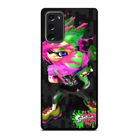 SPLATOON  2 CHARACTER Samsung Galaxy Note 20 Case Cover