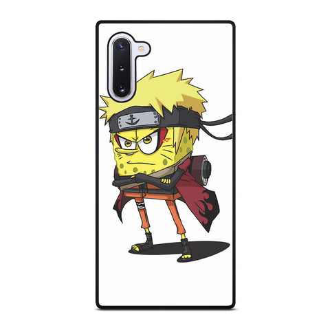 SPONGEBOB NARUTO SHIPPUDEN Samsung Galaxy Note 10 Case Cover