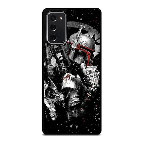 STAR WARS BOBA FETT ART Samsung Galaxy Note 20 Case Cover