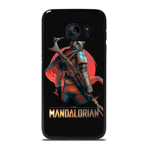 STAR WARS THE MANDALORIAN ART  Samsung Galaxy S7 Edge Case Cover