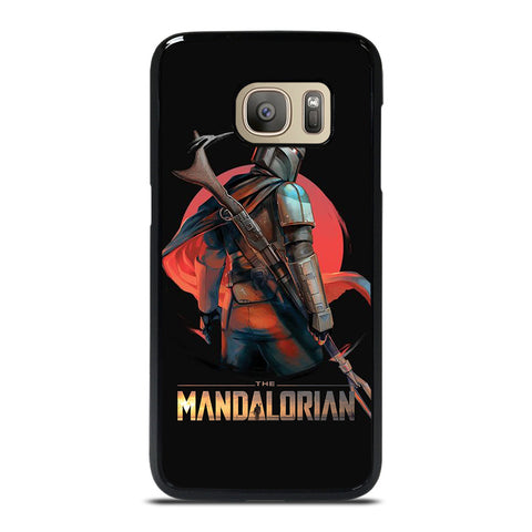 STAR WARS THE MANDALORIAN ART  Samsung Galaxy S7 Case Cover