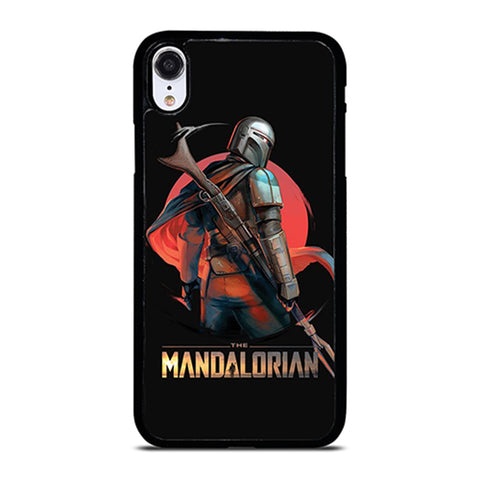 STAR WARS THE MANDALORIAN ART  iPhone XR Case Cover