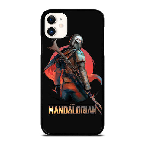 STAR WARS THE MANDALORIAN ART  iPhone 11 Case Cover