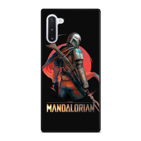 STAR WARS THE MANDALORIAN ART  Samsung Galaxy Note 10 Case Cover