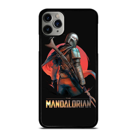 STAR WARS THE MANDALORIAN ART  iPhone 11 Pro Max Case Cover