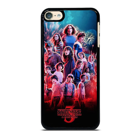 STRANGER THINGS 3 POSTER iPod Touch 6 Case