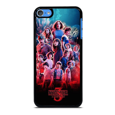 STRANGER THINGS 3 POSTER iPod Touch 7 Case