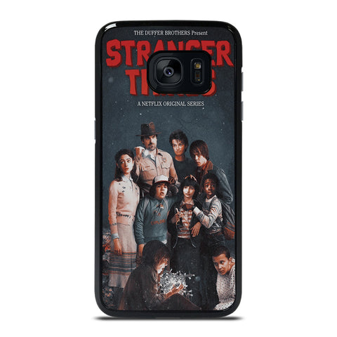 STRANGER THINGS POSTER Samsung Galaxy S7 Edge Case Cover