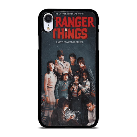 STRANGER THINGS POSTER iPhone XR Case Cover