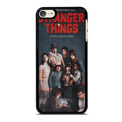 STRANGER THINGS POSTER iPod Touch 6 Case