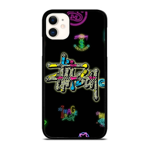 STUSSY LOGO COLOR FULL iPhone 11 Case Cover