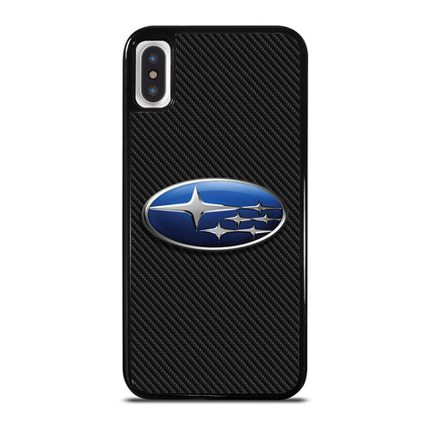 SUBARU CARBON LOGO iPhone X / XS Case Cover