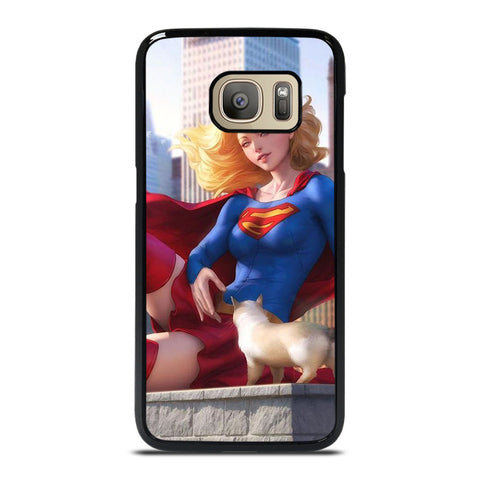 SUPERGIRL  DC CARTOON Samsung Galaxy S7 Case Cover