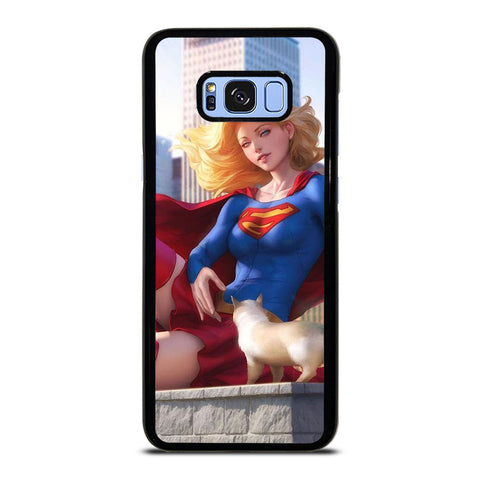 SUPERGIRL  DC CARTOON Samsung Galaxy S8 Plus Case Cover